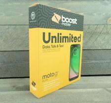 Boost Mobile Motorola Moto G7 Play 32GB Prepaid Smartphone NEW SEALED!