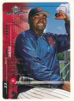 David Ortiz 1999 Upper Deck MVP #121 Minnesota Twins Baseball Card