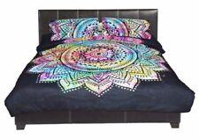 Indian Tie Dye Duvet Doona Cover Comforter Mandala Bohemian Queen Quilt Cover