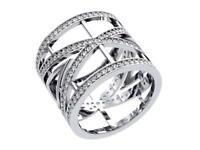 Eternity Anniversary Ring SI1 G 1.25 Ct Round Diamond 14k White Gold Appraisal