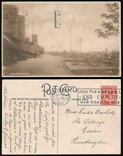 GB SLOGAN CANCEL 1926 KINGS ROLL...PPC GUN GARDENS RYE...FINCHLEY MACHINE