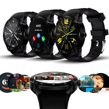GSM Unlocked 3G Smart Watch & Phone Android 4.4 Fitness Tracker AT&T T-mobile