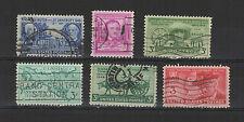 U.S.A. États-Unis 1949 6 timbres oblitérés  /T2036