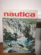 ** Nautica OTTOBRE 1967 barca mare motoscafo gommone motore vela rivista **