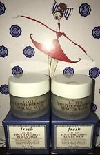 2X Fresh Lotus Youth Preserve Rescue Face Mask 0.5oz ea Travel Size Lot New