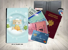 noel  001 christmas porte carte identité grise permis passeport