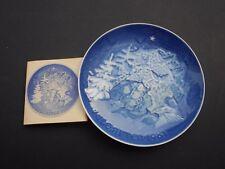 Piatto di Natale BING & GRONDAHL 1981 (ROYAL COPENHAGEN) originale 1a scelta