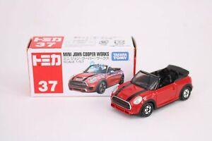 Takara Tomy Tomica #37 Mini John Cooper Works RED ver. 1/57 Diecast Toy Car