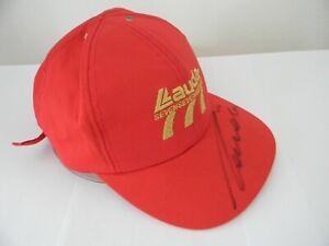 NEW orig SIGNED cap Niki Lauda Air 777 formula one f1 March BRM Ferrari McLaren