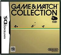 Used Nintendo DS Game & Watch Collection Club Nintendo Japan Import、、