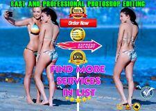 Professional Photo - Image Editing Service -Background Remove -Photo Retouching