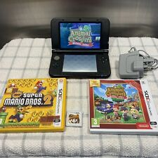 Nintendo 3DS XL In Red with ANIMAL CROSSING & More