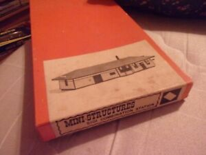 Mini-Structures Combination Freight & Passenger Station Kit in original box.