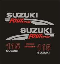 Adesivi motore marino fuoribordo Suzuki 115 hp four stroke