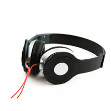 Foldable Headphone Stereo Stylish Headphones Earphone Headset Over Ear Mp3 iPod Black