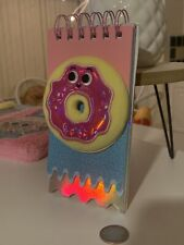 Multi Layered Plush * Donut * Writing Pad * Brand New * L@K