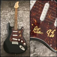 GFA Dust in the Wind * KANSAS BAND * Signed Electric Guitar x2 K3 COA