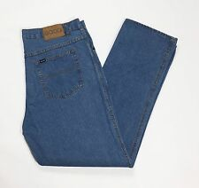 Good jeans W42 tg 56 work blu lavoro usati uomo man gamba dritta usato T2244