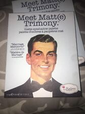The Balm Cosmetics ( Meet Matt(e) Trimony)