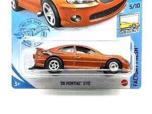 2021 Hot Wheels '06 Pontiac GTO -Orange (Holden Monaro) Real Riders SUPER CUSTOM