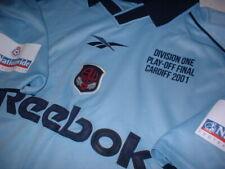 Bolton Wanderers Large Reebok Play Off 2001 Shirt Jersey Football Soccer Trikot