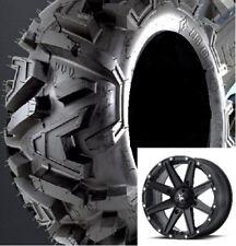 Set of (2) EFX 26-9-14 & (2) 26-11-14 Moto-MTC ATV/UTV Tires Bighorn & MSA Rims