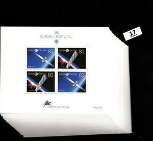 / 45X PORTUGAL - MNH - EUROAP CEPT 1991 - SPACE - SPACESHIPS - WHOLESALE
