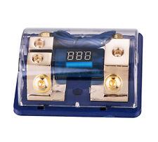 New listing Dual Digital Platinum Anl Dist Block 0-4 Ga Free 2Pcs 80A Fuse Holder Fh060G