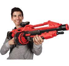 Giant Nerf Gun For Boys Sniper Scope Pistol Shotgun Vortex Blaster Machine Red
