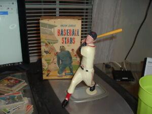 1958 - 1962 Hartland Plastics Statue Ted Williams with Original Bat and Box NICE