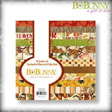 BO BUNNY Bastelpapier / Paper Pad / Scrapbooking - bezaubernde Erntezeit