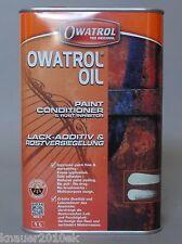 Original Owatrol Öl Kriechöl Rostschutz Holzschutz 1 ltr