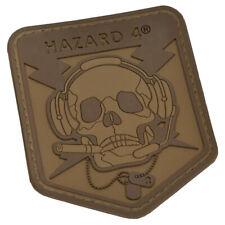 More details for hazard 4 operator schädel moral patch kampf taktische armée mission coyot