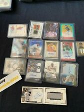 Baseball Card Collection Fire Sale! Autographs, Relics,etc. Bargain Prices! Wow!