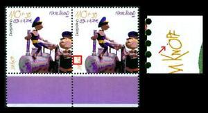 2193 II ** (Jugend 2001, Jim Knopf und Lukas der Lokomotivführer) - Paar