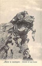 A4819) ALPINI IN MONTAGNA, SCALATA DI UNA ROCCIA.