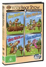 The Yogi Bear Show - The Complete Series : Vol 1-4 ( DVD,  4-Disc Set )