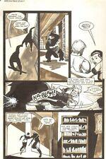 Planet of the Apes #16 p 7 - Retreating - Malibu Comics - 1991 art by M.C. Wyman