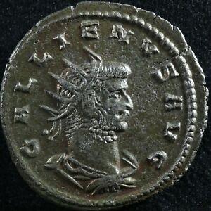 Gallienus Antoninianus 260-268 Asia RIC 630 Sol globe