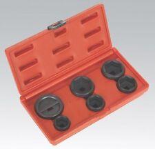 6 piezas conjunto Filtro De Aceite Cap eliminación Llave Socket conjunto de herramientas 24 mm - 42mm