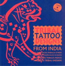 TRIBAL TATTOO DESIGNS FROM INDIA with CD **NEW COPY**