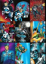THE PUNISHER WAR JOURNAL ENTRY 1992 90-CARD CARD SET-COMIC IMAGES-FREE U.S. SH