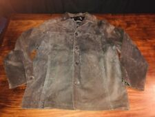 Vintage Redsand Suede Leather Jacket Large