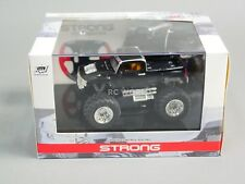 RC 1/43 Radio Control RC Micro Monster Truck HUMMER  w/ LED Lights Black Pickup