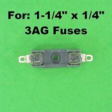 3AG Fuse Holder Block 12 Volt Vehicle Automotive 30A / 120V AC Universal Inline