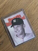 1999 Fleer Sports Illustrated Cover Card Mickey Mantle New York Yankees #50/50C