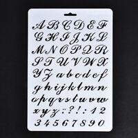 Plantilla de letra y numero, Pintura Plantilla de papel, Alfabeto y Plantil Y4I6