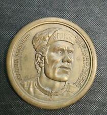 Extremely rare Bronze medal  JOAQUIM AGOSTINHO - Cycling Idol - Tour de France