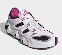 ADIDAS FYW S-97 NEW White Black Pink Athletic Shoes Size US Men's 12 LIFESTYLE