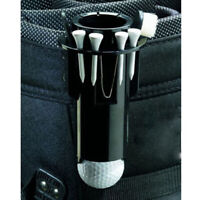 Golf Ball Tee Holder Golf Clip Caddy with Nylon Brush Pitchfork Golf Supplies FY